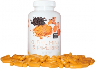 Kurkumin Piperin Plus 120 tbl.