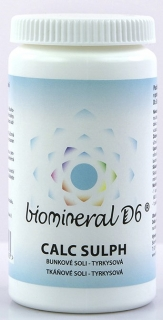 Biomineral D6 Calc Sulph 180 tbl
