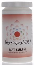 Biomineral D6 Nat Sulph 180 tbl